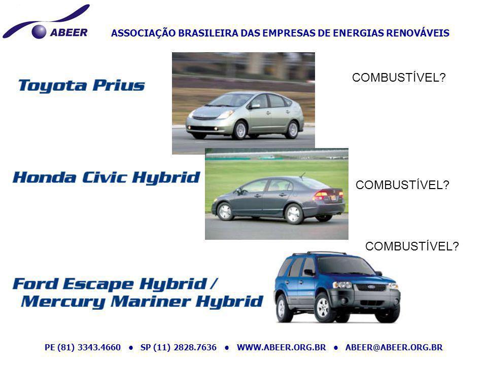 ASSOCIAÇÃO BRASILEIRA DAS EMPRESAS DE ENERGIAS RENOVÁVEIS PE (81) 3343.4660 SP (11) 2828.7636 WWW.ABEER.ORG.BR ABEER@ABEER.ORG.BR COMBUSTÍVEL?