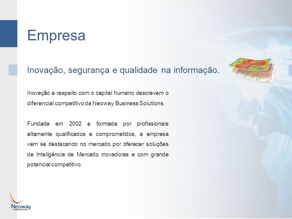 Empresa Inovação e respeito com o capital humano descrevem o diferencial competitivo da Neoway Business Solutions. Fundada em 2002 e formada por profi