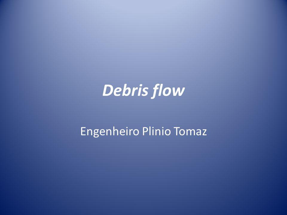 Debris flow Engenheiro Plinio Tomaz