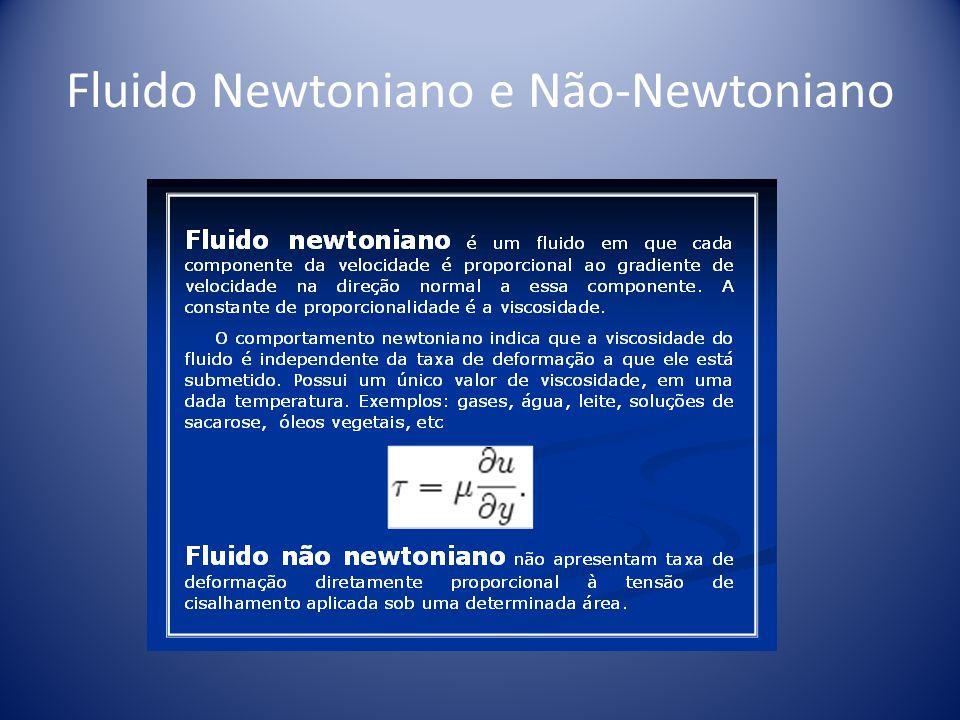 Fluido Newtoniano e Não-Newtoniano