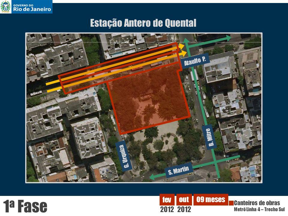 Estação Antero de Quental Ataulfo P.B. Mitre G. Urquiza S.