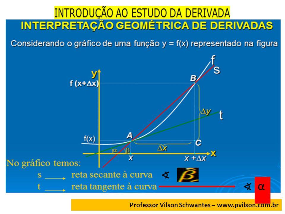 Professor Vilson Schwantes – www.pvilson.com.br α