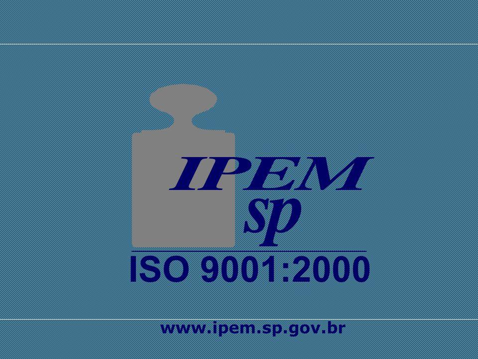 SISTEMA INTERNACIONAL DE UNIDADES - SI ISO 9001:2000 www.ipem.sp.gov.br