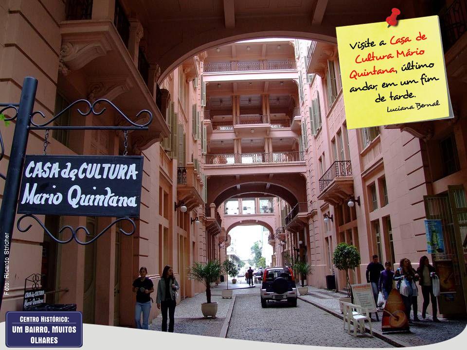 Visite a Casa de Cultura Mário Quintana, último andar, em um fim de tarde. Luciana Bernal Foto: Ricardo Stricher