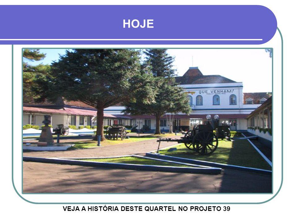 29º G.A.C. AP VISÃO DO PÁTIO PRINCIPAL DO QUARTEL