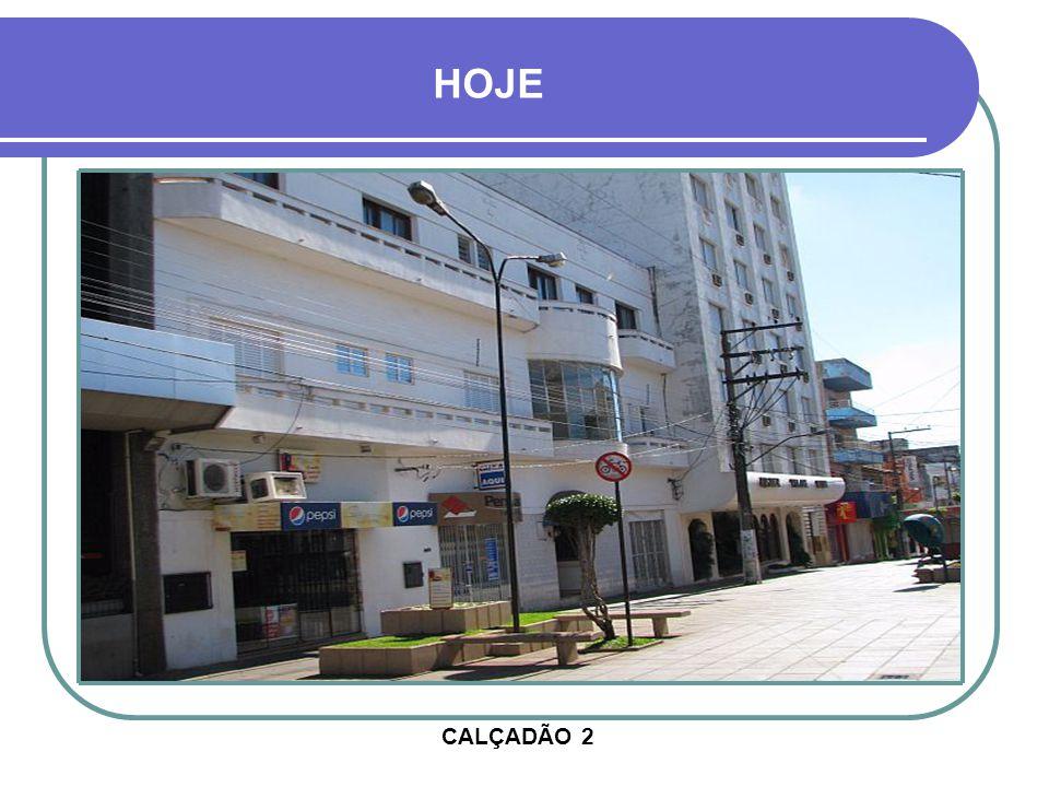 RUA PINHEIRO MACHADO HOTEL ROSMER EM CONSTRUÇÃO