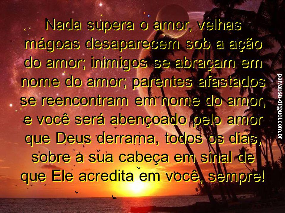paivabsb-df@uol.com.br E o seu tempo de plantar é todos os dias; é a cada minuto.