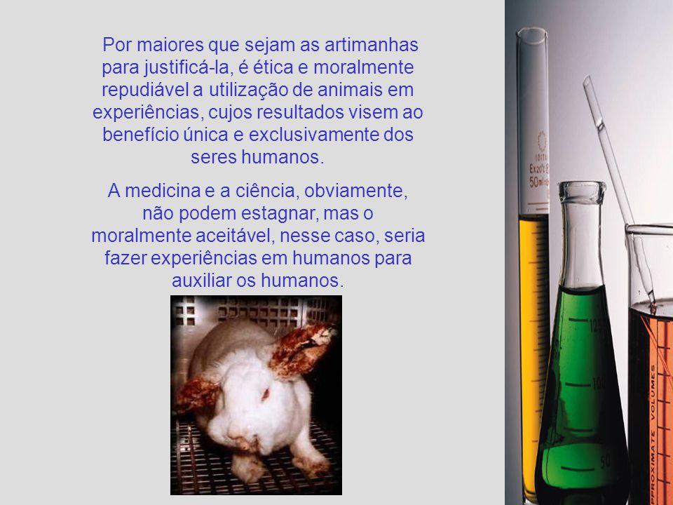 A primeira regulamentação acerca do uso de animais foi proposta pela British Cruelty to Animal Act, em 1876, no Reino Unido, mas já existia na Inglate