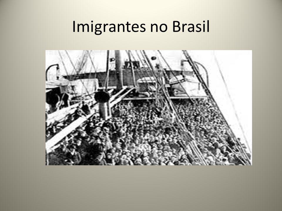 Imigrantes no Brasil