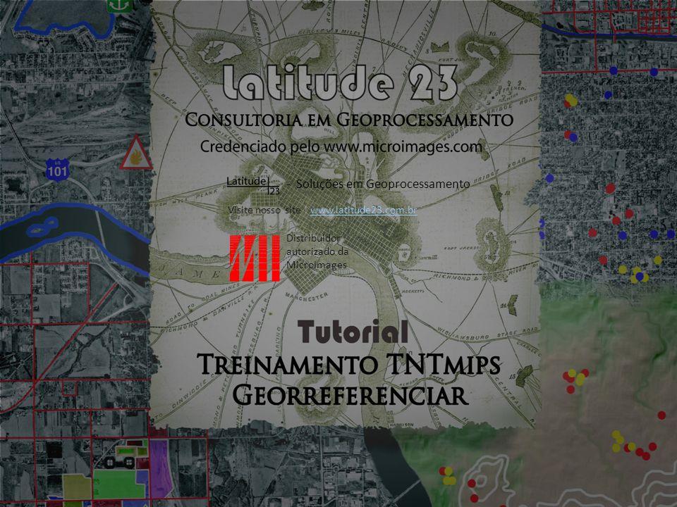 Agora vamos criar um vetor georreferenciado, usando o mapa georreferenciado como referência.
