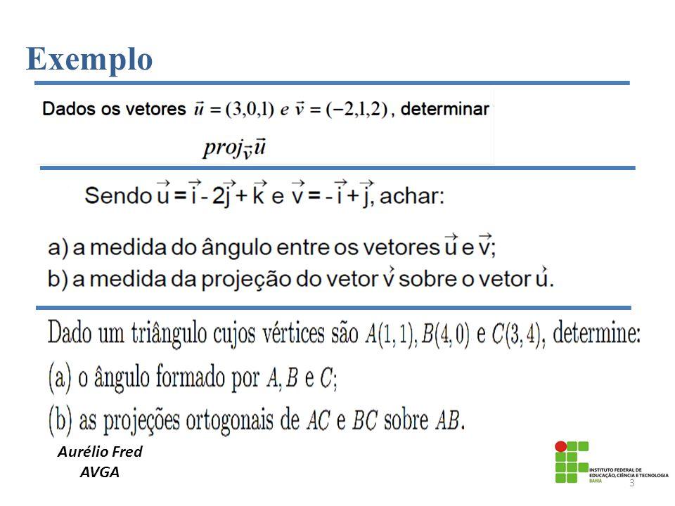 Exemplo Aurélio Fred AVGA 3