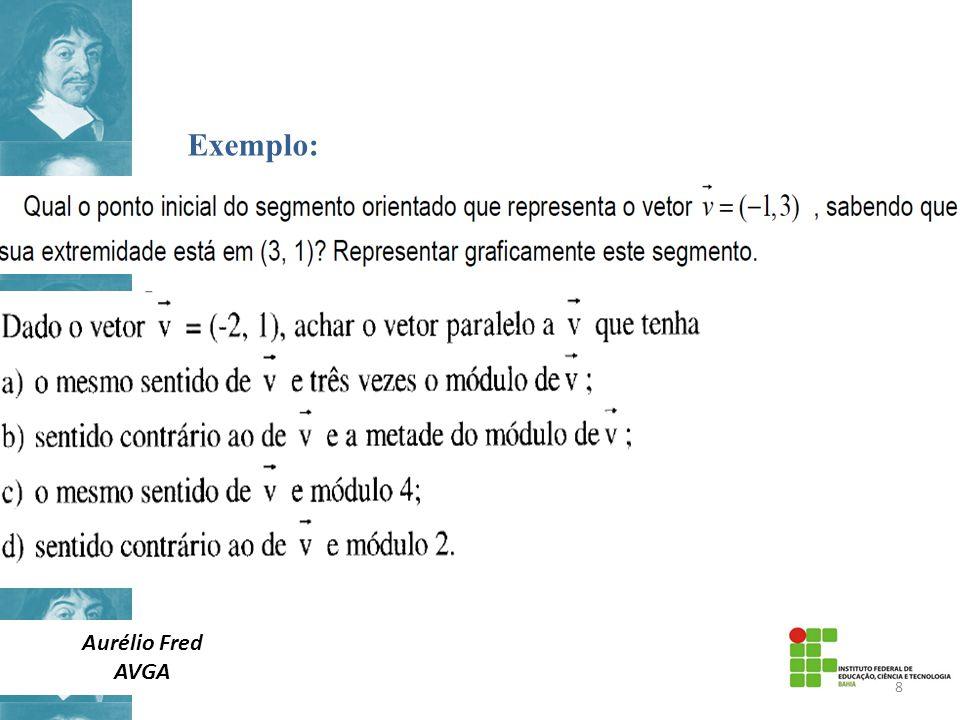 Exemplo: Aurélio Fred AVGA 8