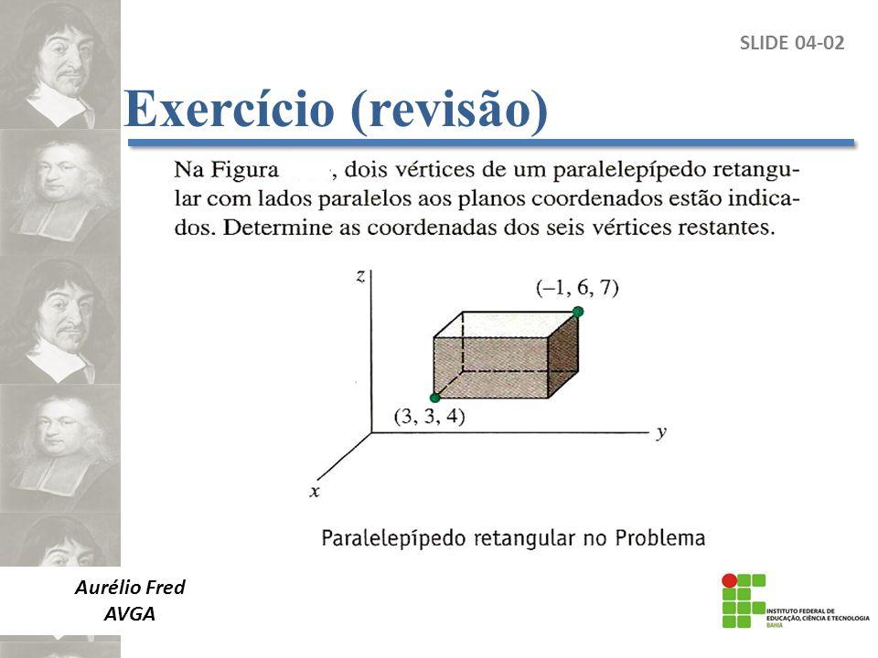 SLIDE 04-02 Aurélio Fred AVGA Exercício (revisão)