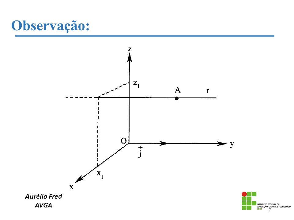 Aurélio Fred AVGA Observação: 8