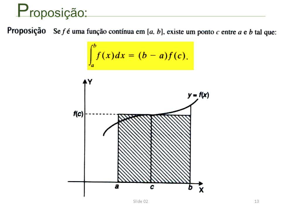 Slide 0213 P roposição:
