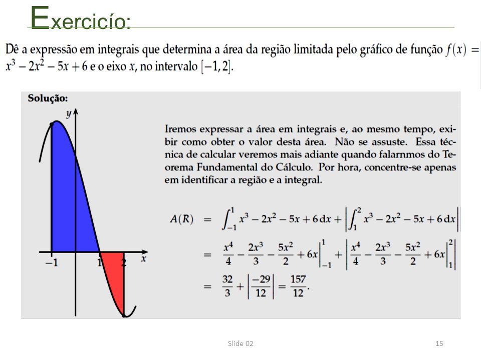 Slide 0215 E xercicío: