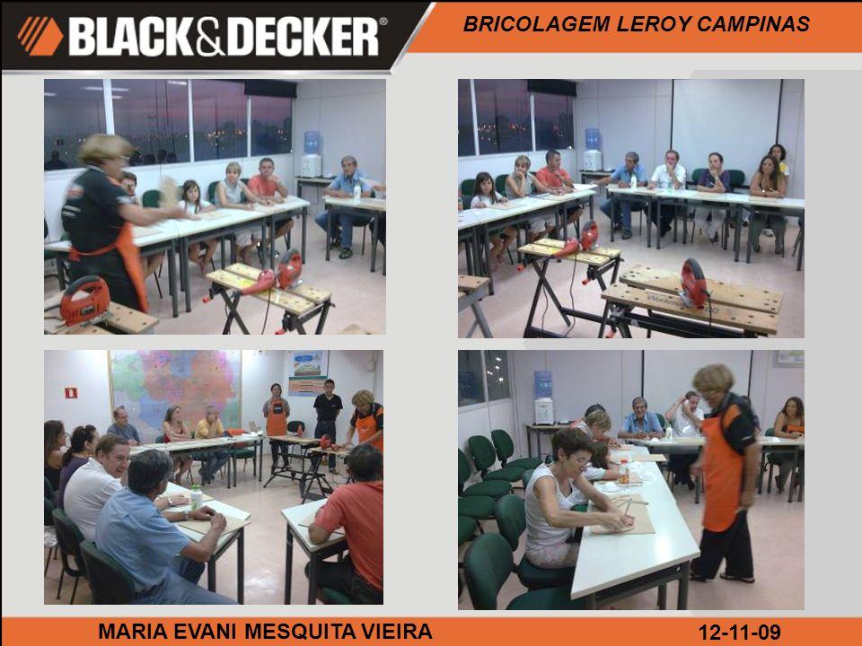 BRICOLAGEM LEROY CAMPINAS MARIA EVANI MESQUITA VIEIRA12-11-09 Hora de furar.