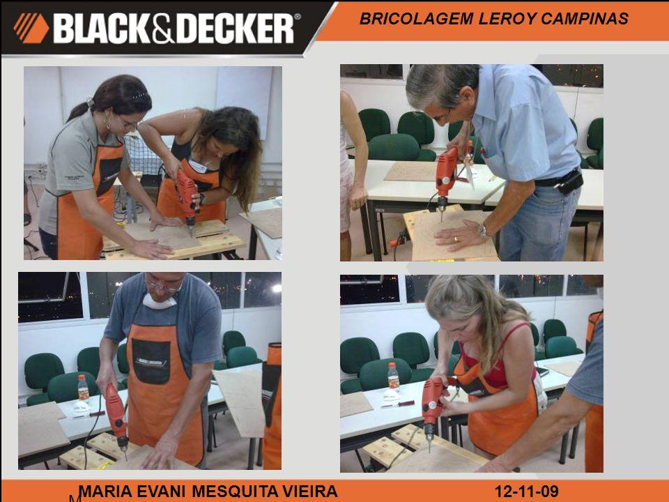 BRICOLAGEM LEROY CAMPINAS M MARIA EVANI MESQUITA VIEIRA12-11-09