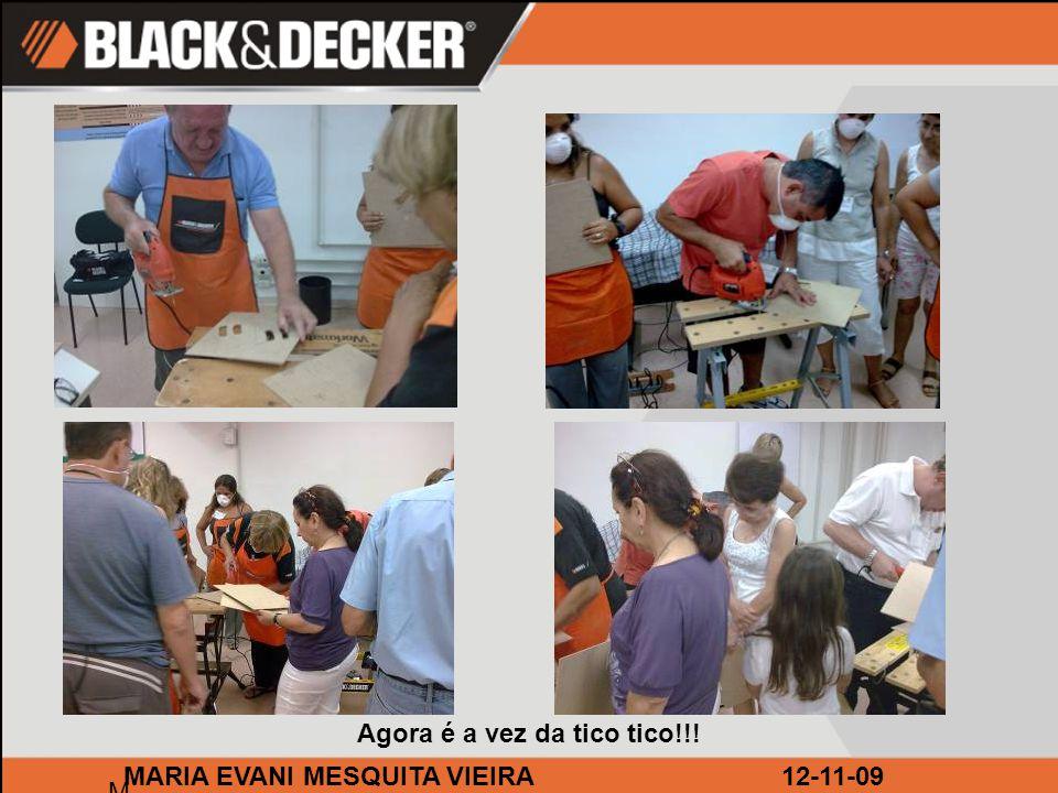 BRICOLAGEM LEROY CAMPINAS M MARIA EVANI MESQUITA VIEIRA12-11-09 O curso teve início às 19:30h.