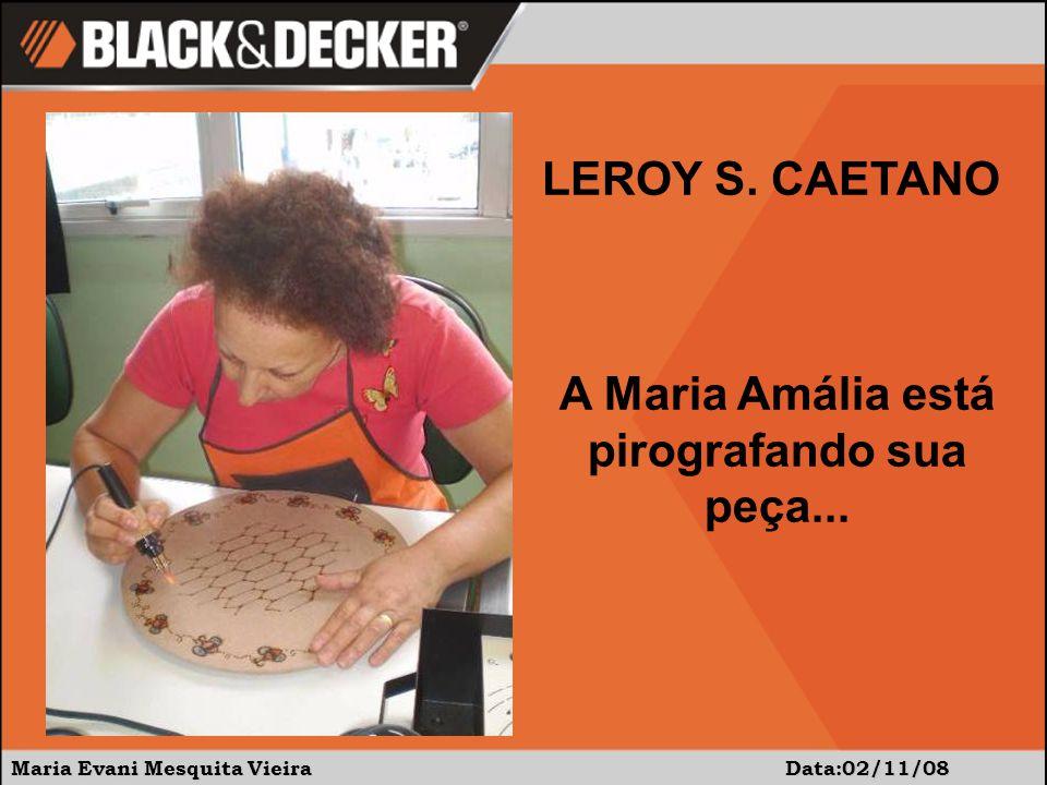 Maria Evani Mesquita Vieira Data: 02/11/08 Aí estão os alunos da turma da manhã!!! LEROY S. CAETANO