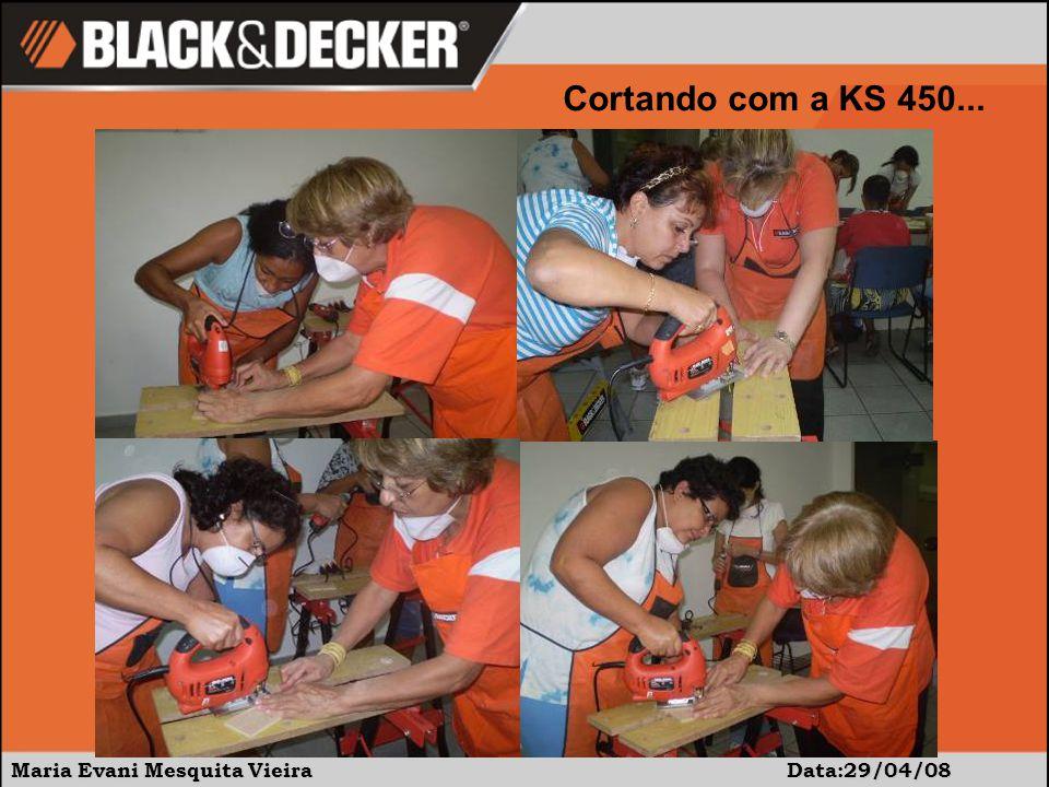 Maria Evani Mesquita Vieira Data:29/04/08 Cortando com a KS 450...