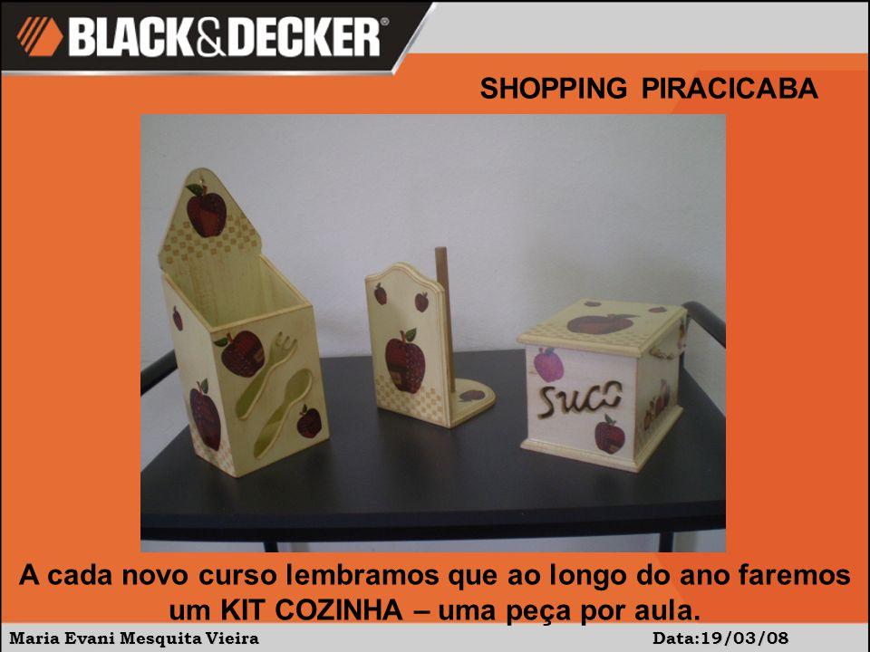 Maria Evani Mesquita Vieira Data:19/03/08 SHOPPING PIRACICABA Explicação sobre cada ferramenta a ser usada