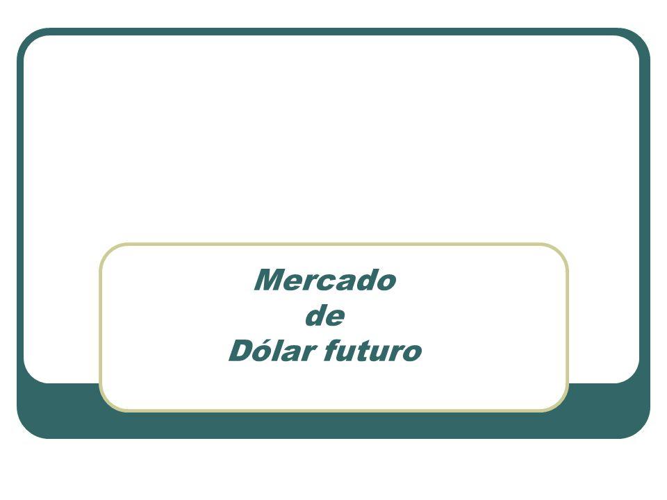 Mercado de Dólar futuro