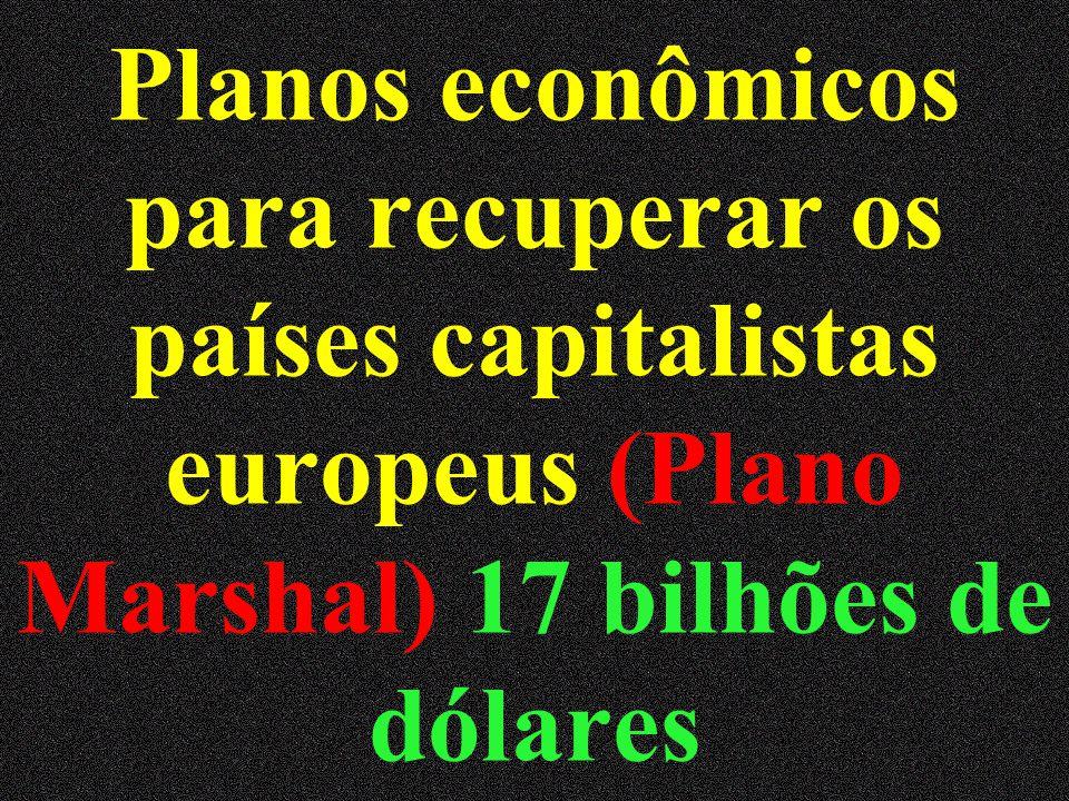 Alteração no equilíbrio mundial 2 blocos antagônicos liberal democrático x socialista