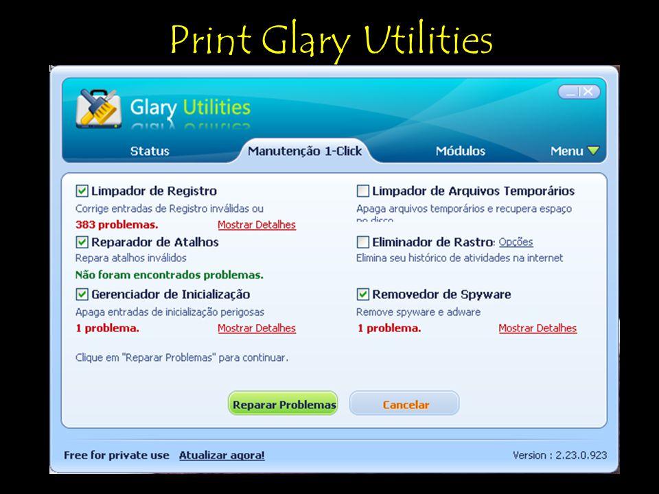 Print Glary Utilities