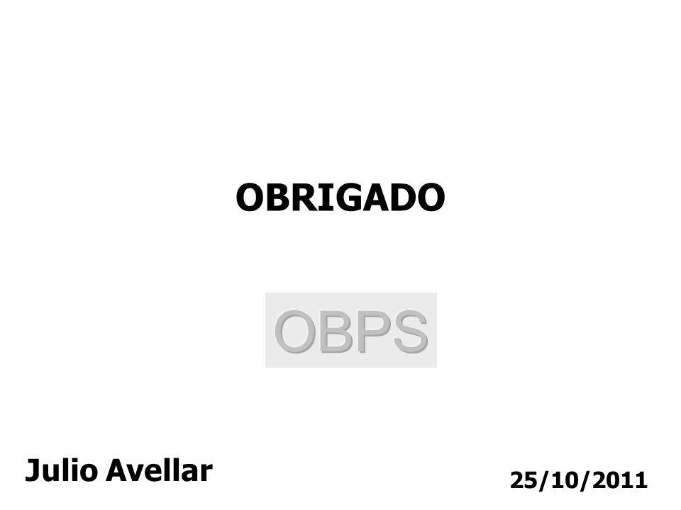 25/10/2011 OBRIGADO Julio Avellar