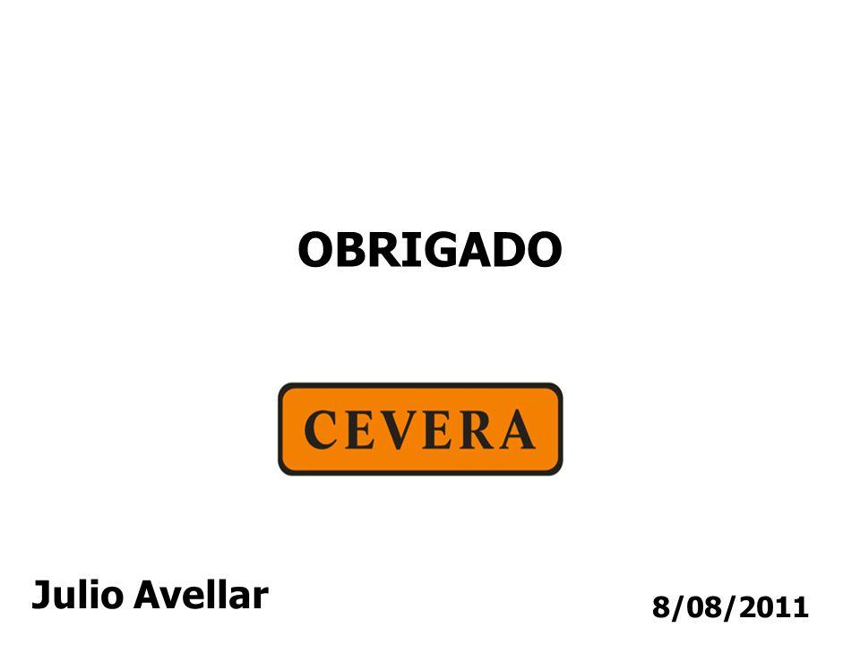 8/08/2011 OBRIGADO Julio Avellar