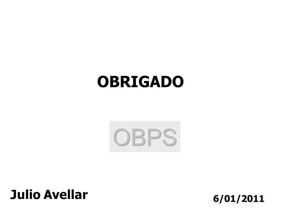 6/01/2011 OBRIGADO Julio Avellar