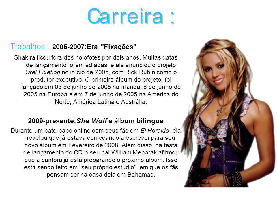 Shakira vive atualmente nos Bahamas.
