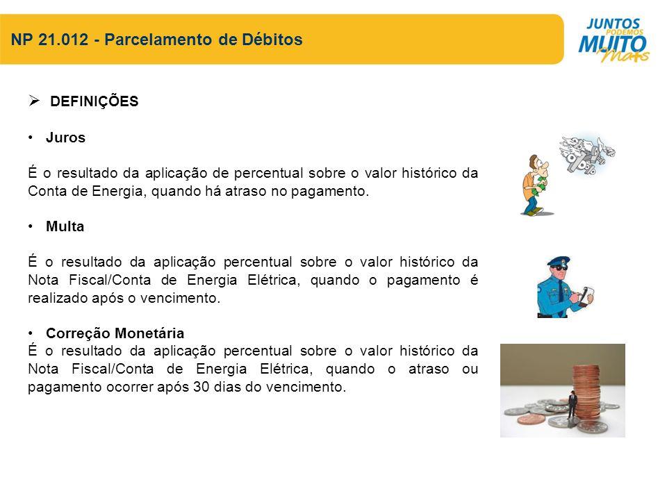 Descrição das Atividades Documentação Necessária para Concessão de Parcelamento 1.