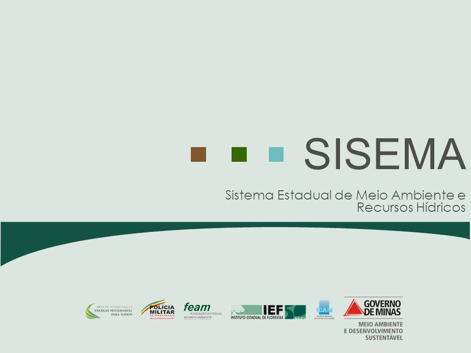 Sistema Estadual de Meio Ambiente e Recursos Hídricos SISEMA