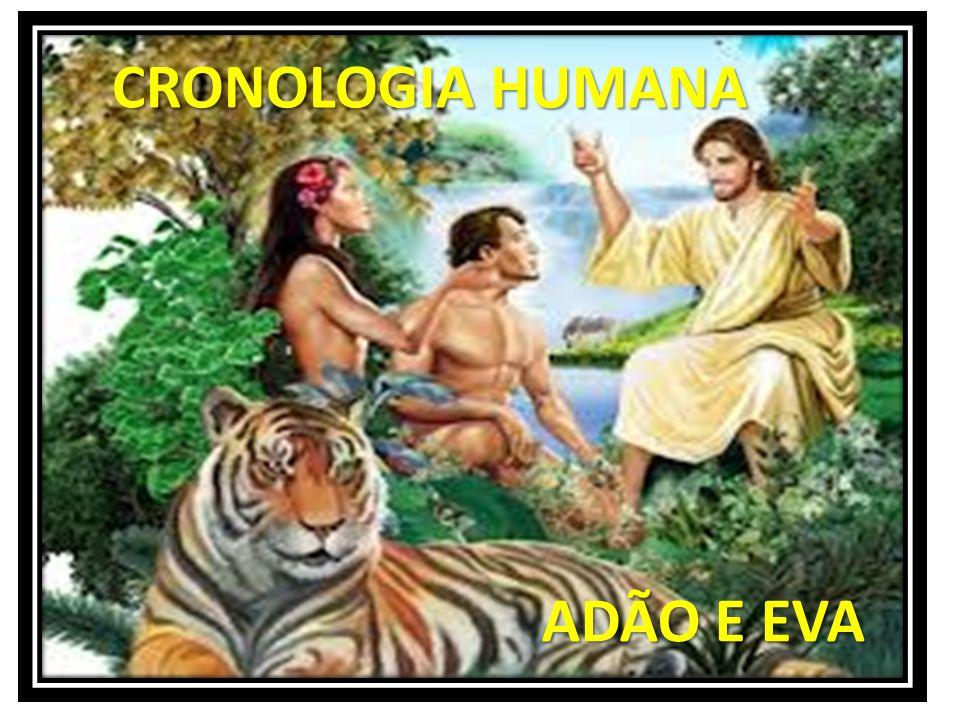 ADÃO E EVA ADÃO E EVA CRONOLOGIA HUMANA