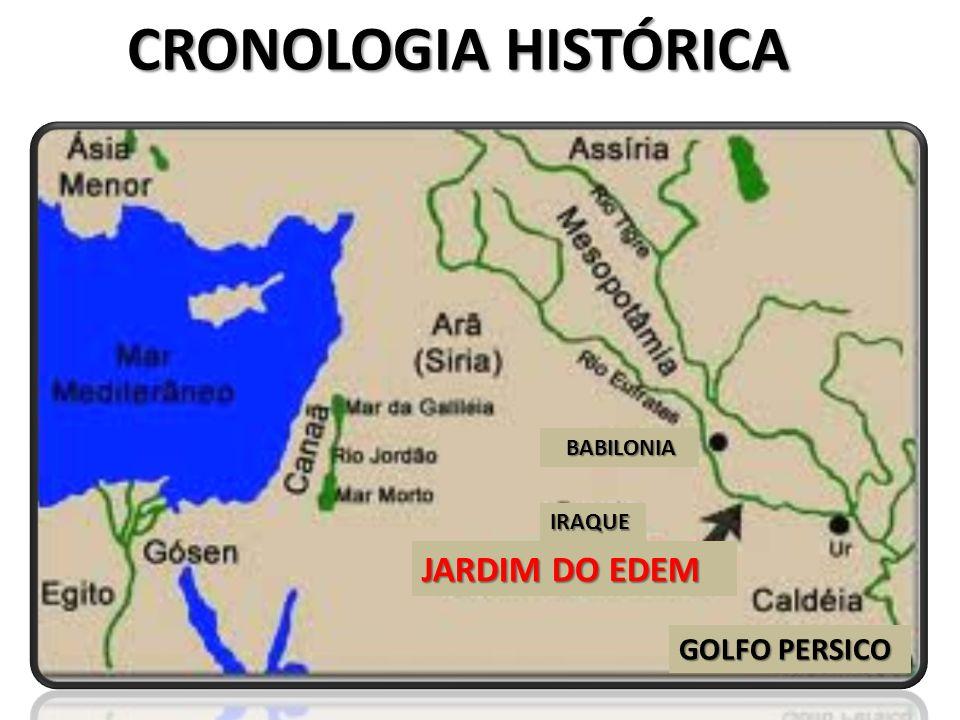 CRONOLOGIA HISTÓRICA JARDIM DO EDEM GOLFO PERSICO BABILONIA BABILONIA IRAQUE