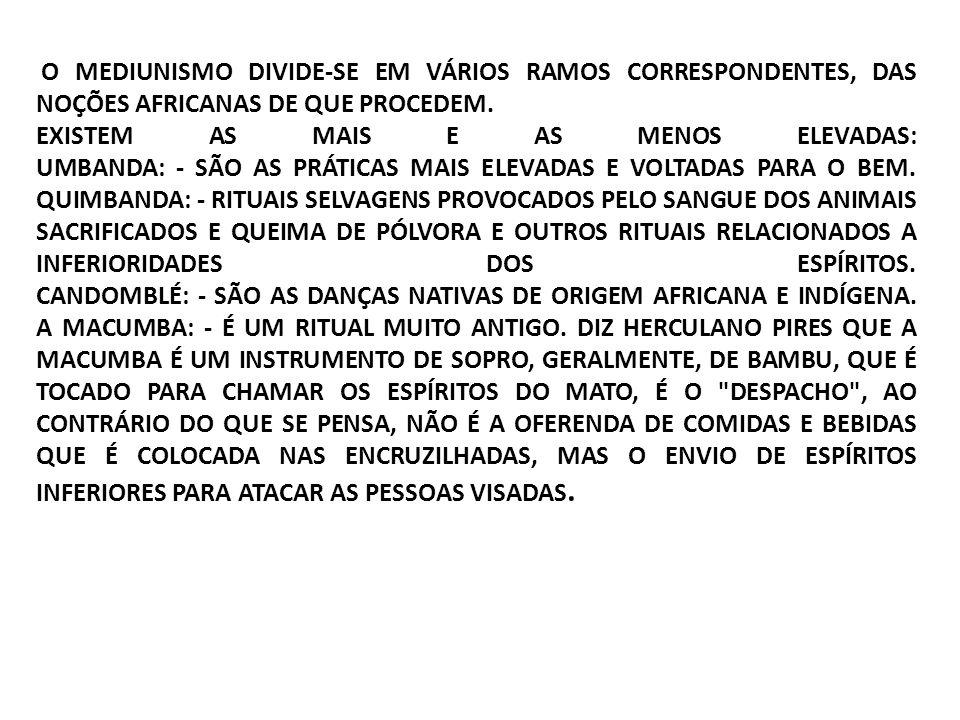 NA DOUTRINA ESPÍRITA, A MEDIUNIDADE É UMA APTIDÃO PARA SERVIR DE INSTRUMENTO AOS ESPÍRITOS EM GERAL; DESENVOLVE-SE NATURALMENTE NAS PESSOAS DE MAIOR SENSIBILIDADE PARA CAPTAÇÃO MENTAL, DE COISAS E FATOS DO MUNDO ESPIRITUAL QUE NOS CERCA E NOS AFETA, COM AS SUAS VIBRAÇÕES AFETIVAS E PSÍQUICAS.