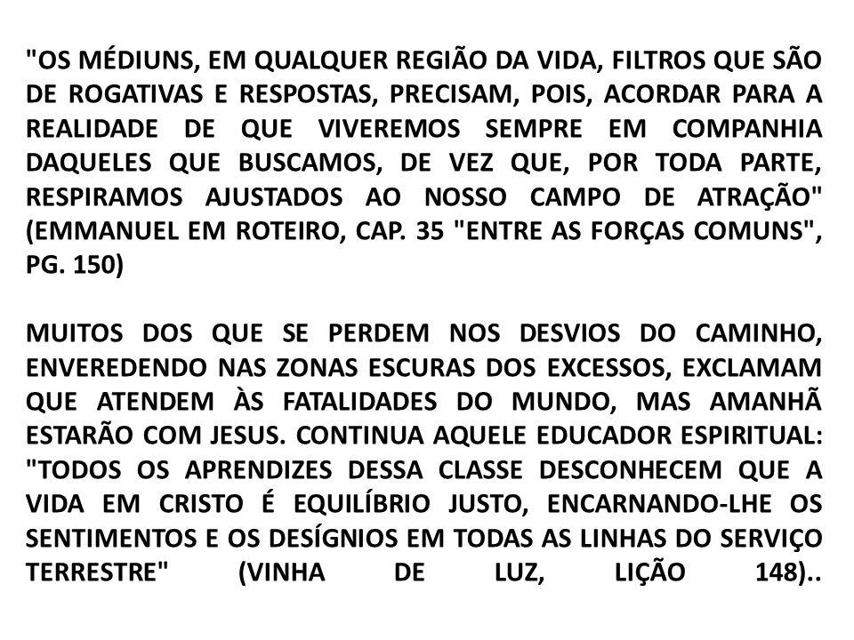 O MESMO AUTOR ESPIRITUAL COMPLETA SEU PENSAMENTO EM OUTRA LIÇÃO: DIA SURGE, PORÉM, NO QUAL O HOMEM RECONHECE A GRANDEZA DO TEMPLO VIVO EM QUE SE DEMORA NO MUNDO E SUPLICA O RETORNO A ELE, COMO TRABALHADOR FAMINTO DE RENOVAÇÃO, QUE NECESSITA DE ADEQUADO INSTRUMENTO À CONQUISTA DO ABENÇOADO SALÁRIO DO PROGRESSO MORAL PARA A SUSPIRADA ASCENSÃO ÀS ESFERAS DIVINAS (EMMANUEL ROTEIRO, CAP.