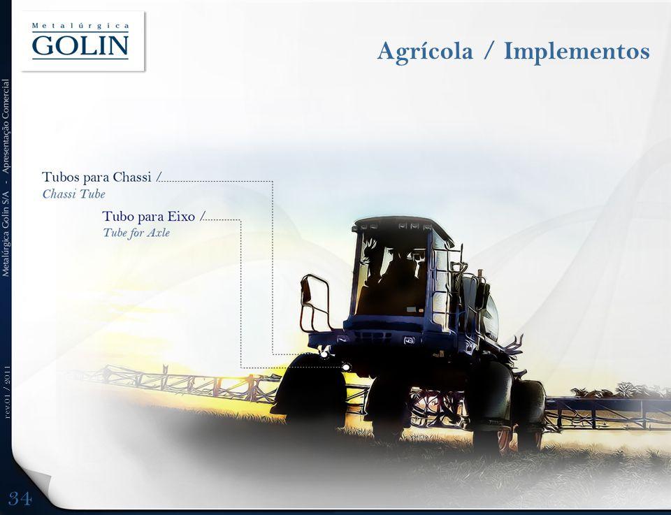 rev.01 / 2011 Agrícola / Implementos 34