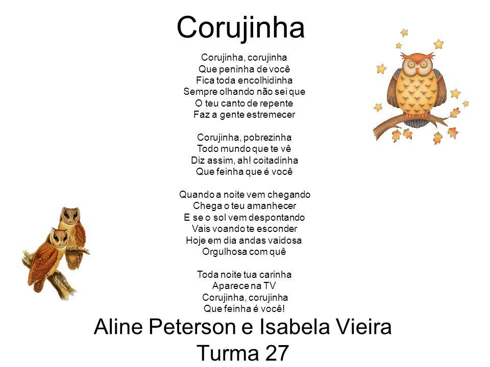 Aline Peterson e Isabela Vieira