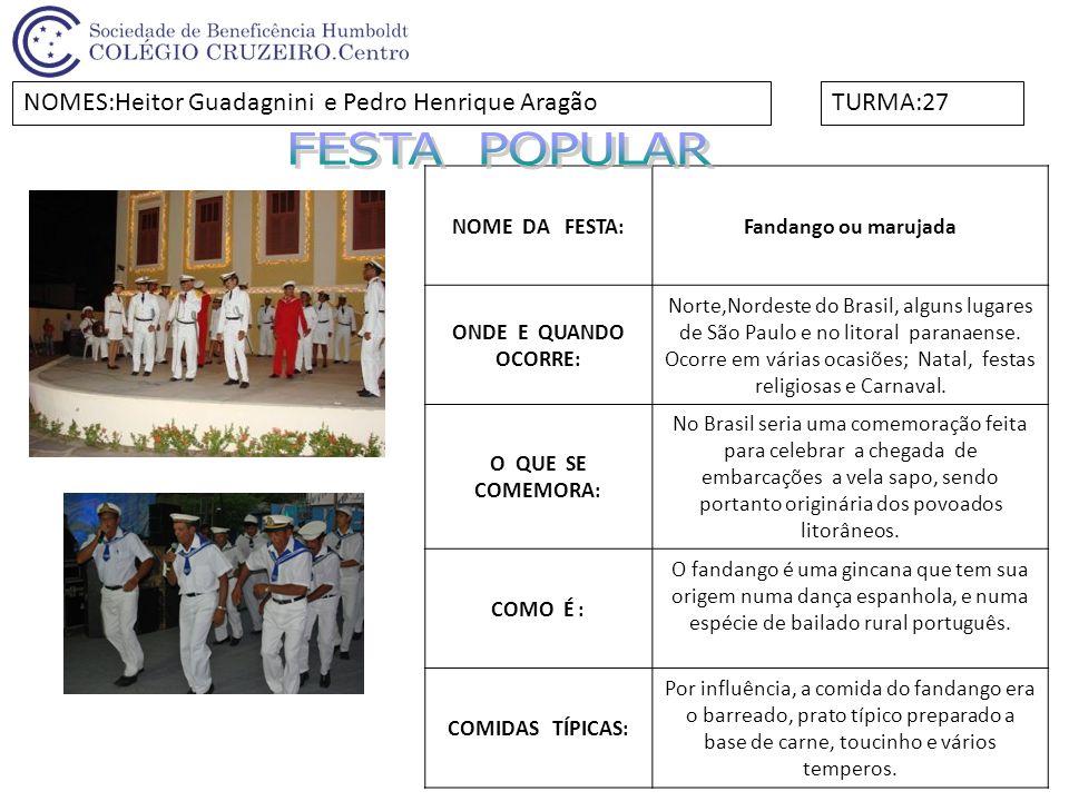 NOME DA FESTA:Festa da Primavera ONDE E QUANDO OCORRE: A festa ocorre em Curitiba e acontece logo após o início da Primavera, no mês de setembro.