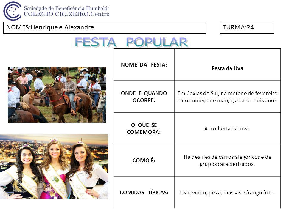 NOME DA FESTA:Festa do Fandango ONDE E QUANDO OCORRE: No Norte e no Nordeste do Brasil, no Natal, em festas religiosas como casamento, batizado e no Carnaval.