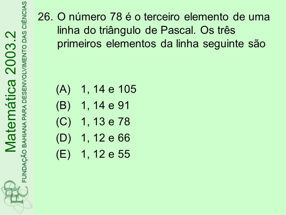 27.Considere no espaço duas retas, r e s, distintas e não concorrentes.