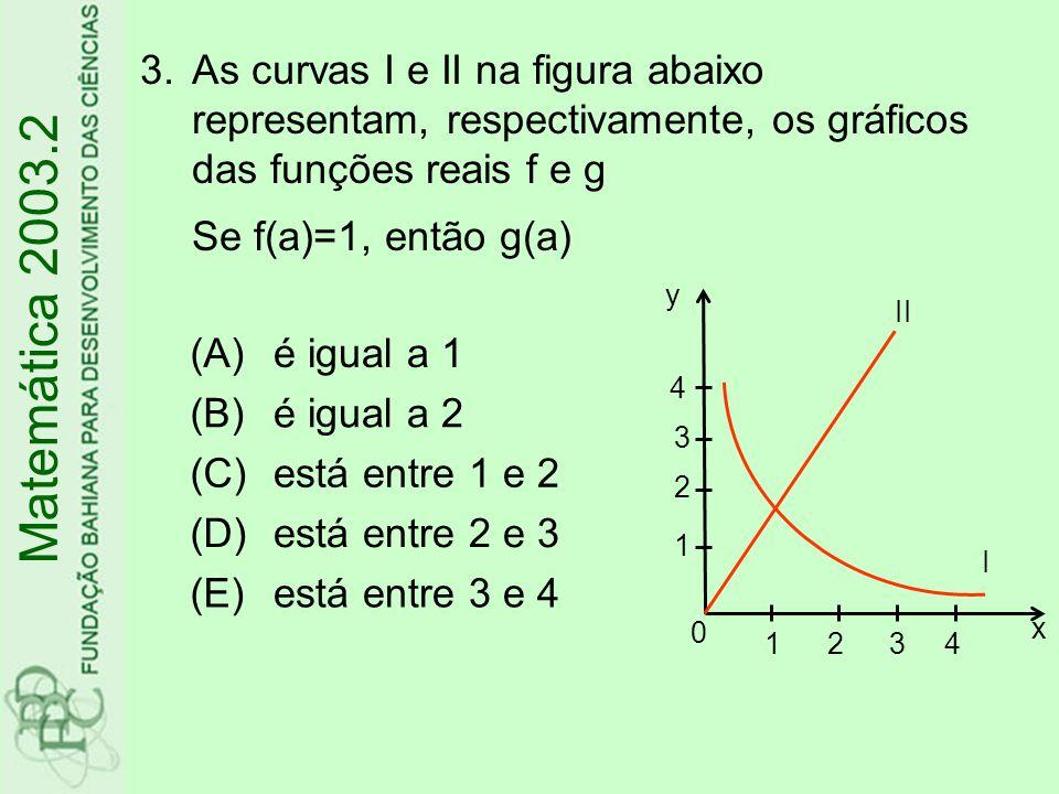 4.Existem n números múltiplos de 6 entre 30 e 2003.