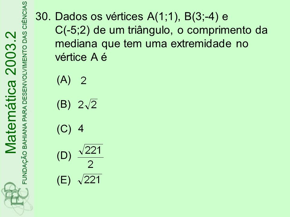 31.A função real f é tal que 3 f(x) =2x²-x+1, para todo x real.