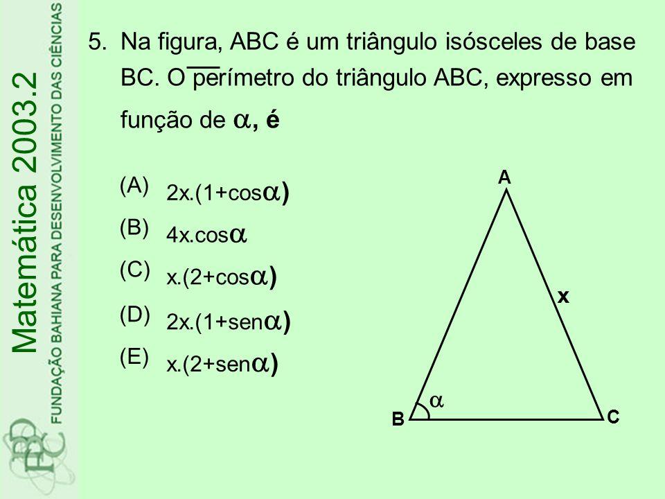 6.Um prisma reto tem como base um triângulo eqüilátero de lado a.