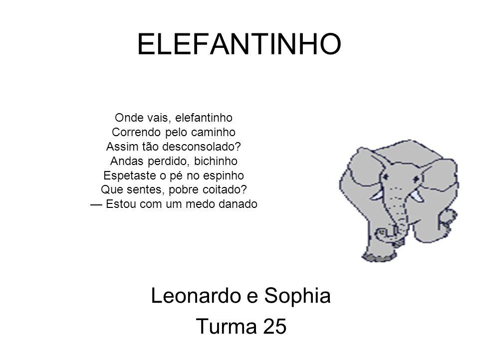 Corujinha Matheus e Juliana Turma 25 Corujinha, corujinha Que peninha de você Fica toda encolhidinha Sempre olhando não sei que O teu canto de repente