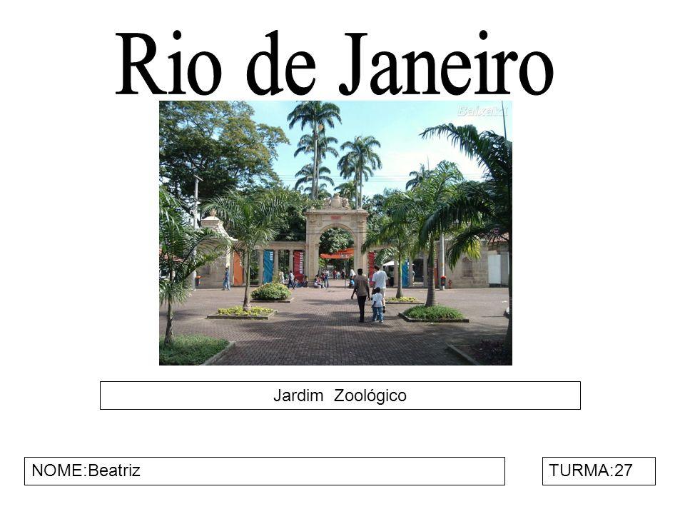 Floresta da Tijuca NOME Rodrigo Ayres e Pedro Henrique Aragão TURMA:27