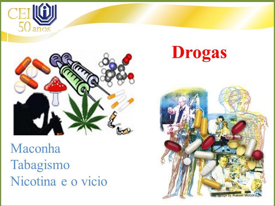 Drogas Maconha Tabagismo Nicotina e o vicio